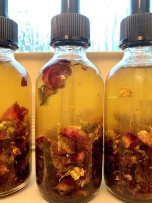 Purity Body & Bath Oil (24k gold & Rosebuds)