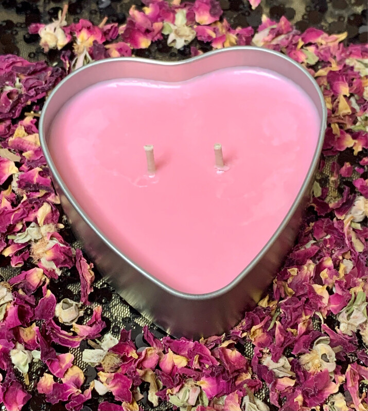 Love's Spell 6oz Soy Candle (2 Candles)