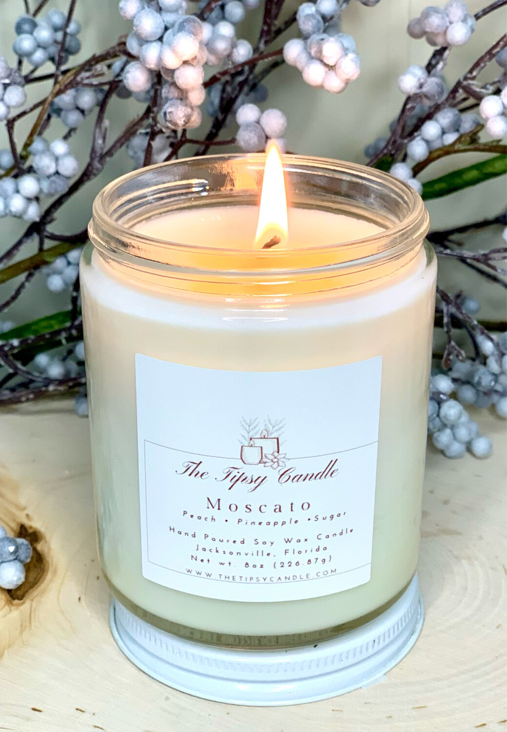 Moscato 8oz Soy Wax Candle