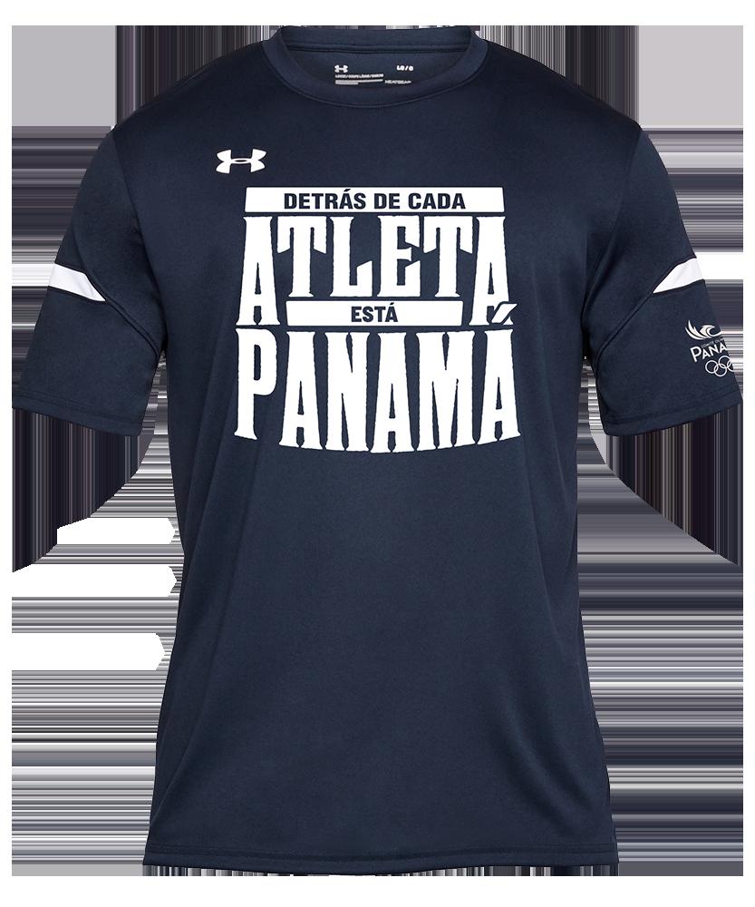 Detrás de cada Atleta está Panamá - Navy - Hombre