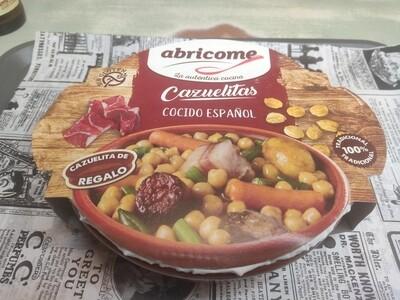 Cocido español en cazuelitas abricome