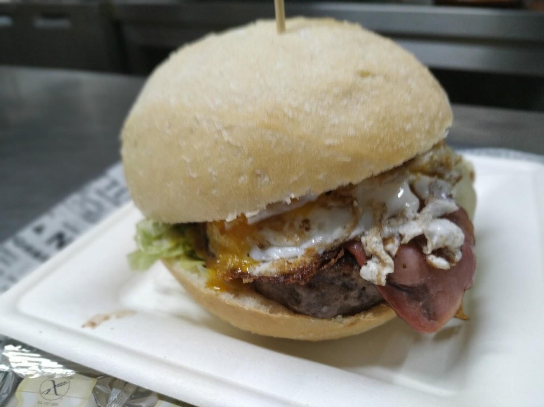 HAMBURGUESA TERNERA BBQ