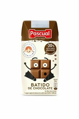 BATIDO DE CHOCOLATE 200ML.