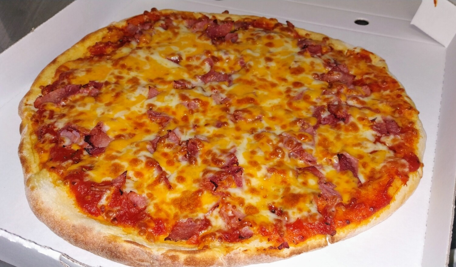 PIZZA YORK CHEESE JAMON Y QUESO
