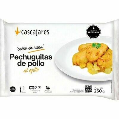 PECHUGUITAS AL AJILLO