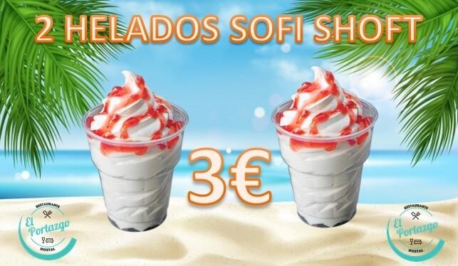 2 HELADOS SOFI SHOFT