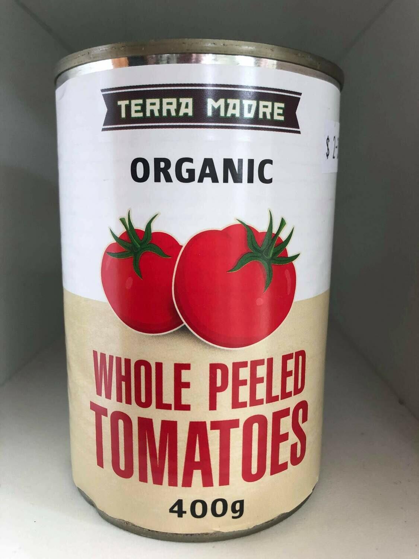 Tomatoes Whole Organic