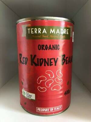 kidney beans organic 400g