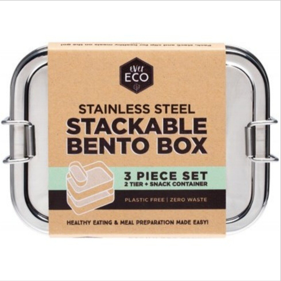 Stainless steel bento boxes
