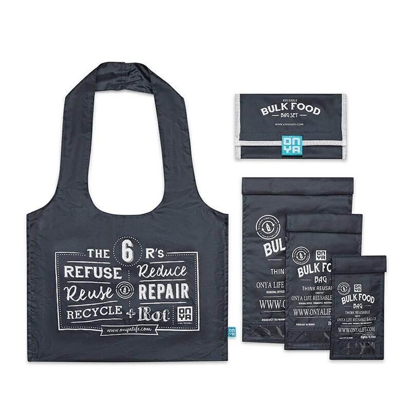 Bulk food bag starter kit