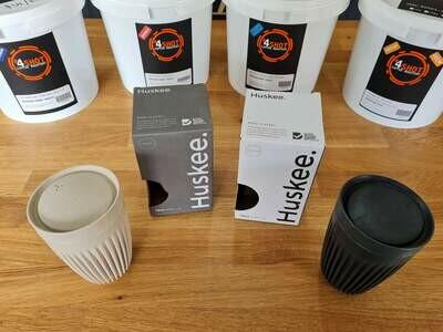 Coffee cups- Huskee