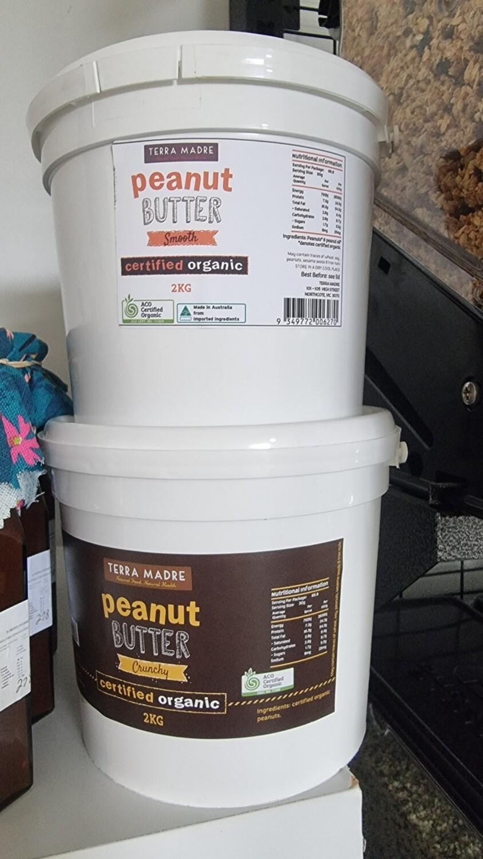 Peanut butter organic