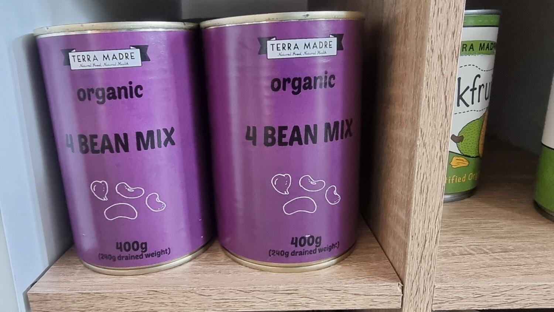 4 bean mix organic 400g