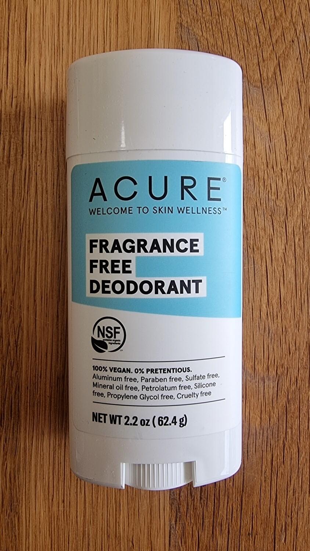 Deodorant- fragrance free