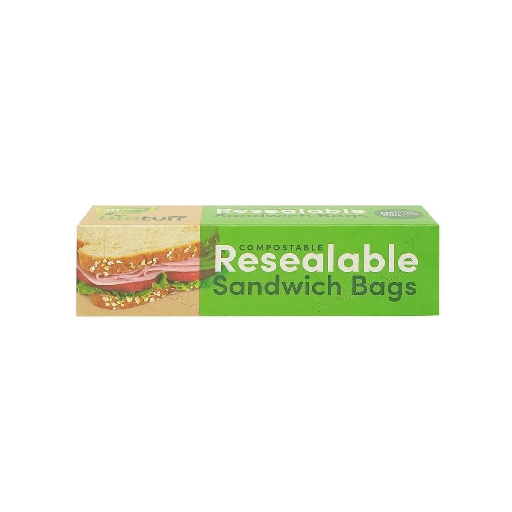 Compostable sandwich bags