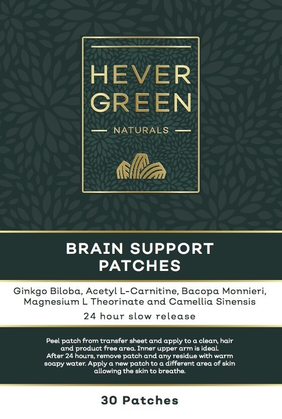 Brain Support transdermal patches