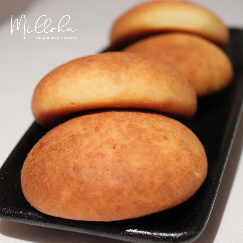 Cheese bread rolls - (Almojabanas)  Cheese & Corn based