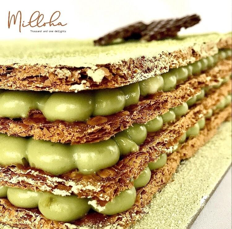 Milloha Matcha Cake
