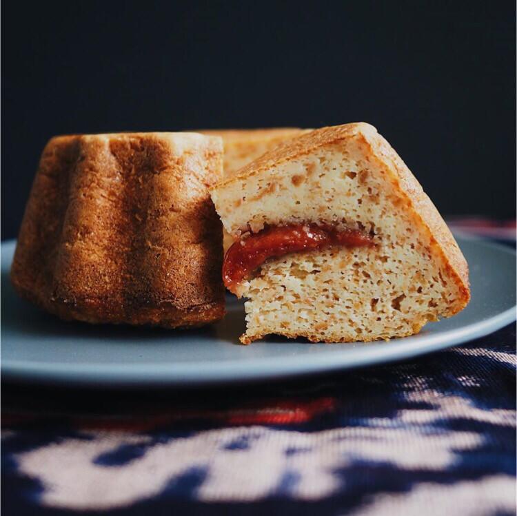 Cheese bread pudding  - (Torta de Almojabana)