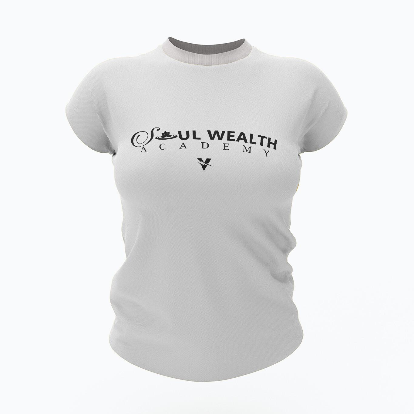 Soul Wealth Tee - White