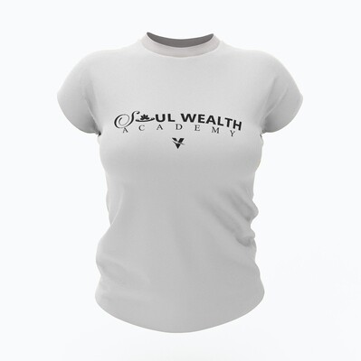 Soul Wealth Tee - White