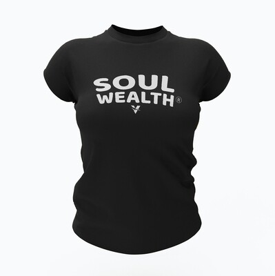 Soul Wealth Short Sleeve Tee (Black)