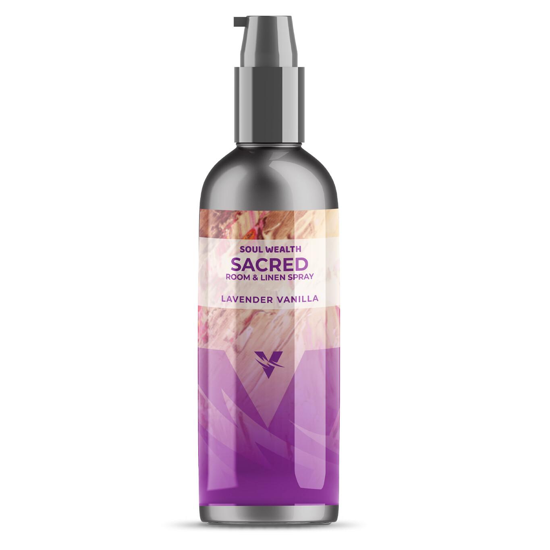 Soul Wealth Sacred Room & Linen Spray (Lavender Vanilla)