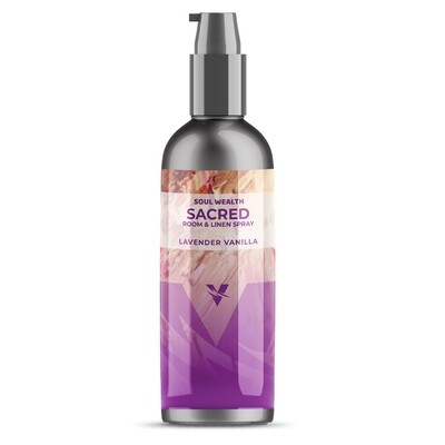 Soul Wealth Sacred Room & Linen Spray (Lavender Vanilla)