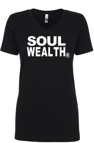 Soul Wealth Short Sleeve Tee (Black)