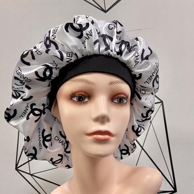 White Chanel Bonnet