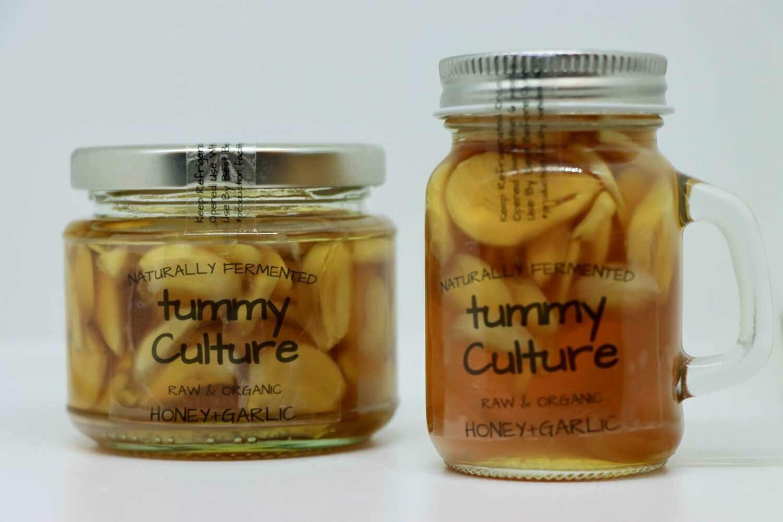 Raw Honey With Immunity Boosting Organic Garlic 200g