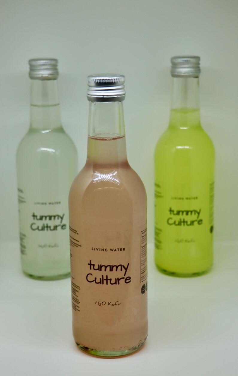 Organic Mixed Berry Water Kefir 330ml