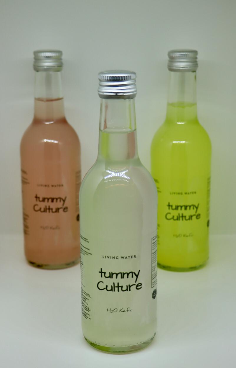 Organic Ginger & Lemon Water Kefir 330ml