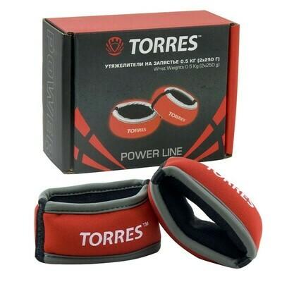 Утяжелители TORRES 0.5 кг