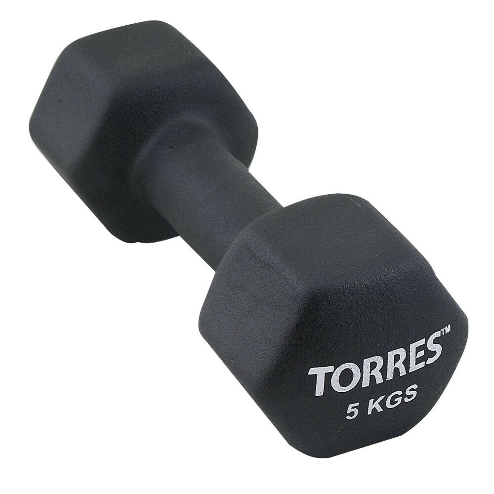 Гантель TORRES 5 кг