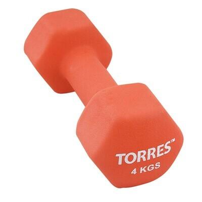 Гантель TORRES 4 кг