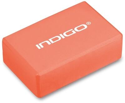 Блок для йоги INDIGO оранжевый