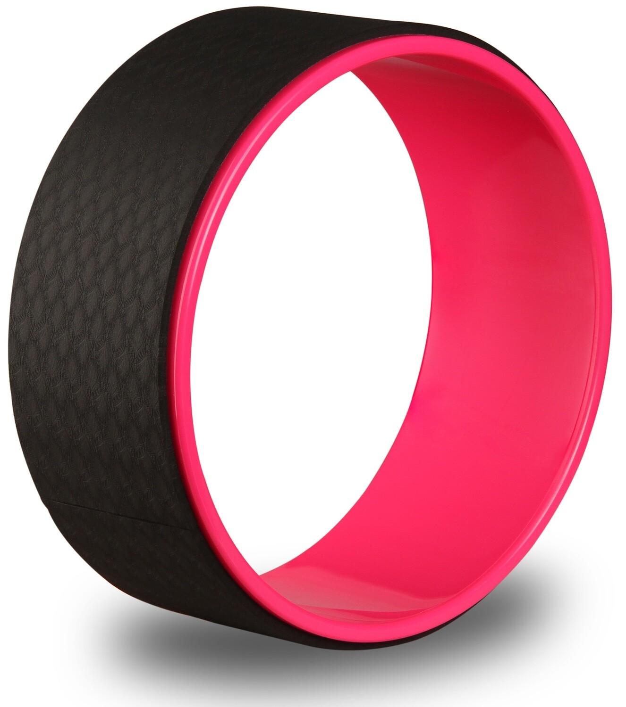 Колесо для йоги Indigo розовый