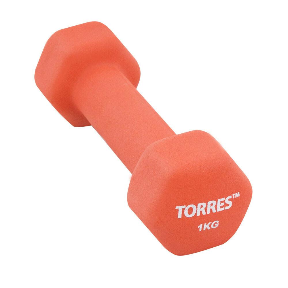 Гантель  TORRES 1 кг