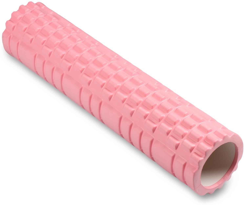 Цилиндр массажный Indigo 14*61 см, розовый