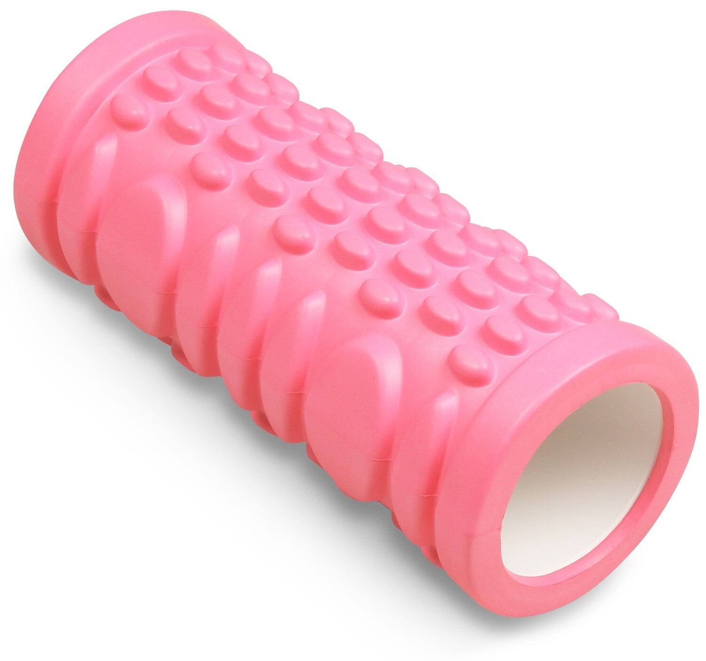 Цилиндр массажный Indigo 14*33 см, розовый