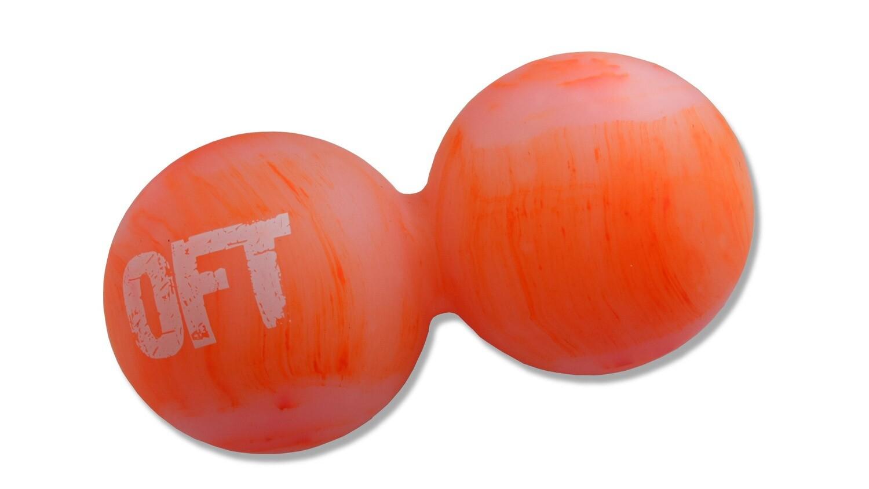 Мяч OFT 12*6 см, оранжевый