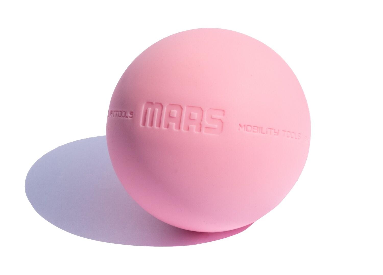 Мяч OFT 9 см, розовый