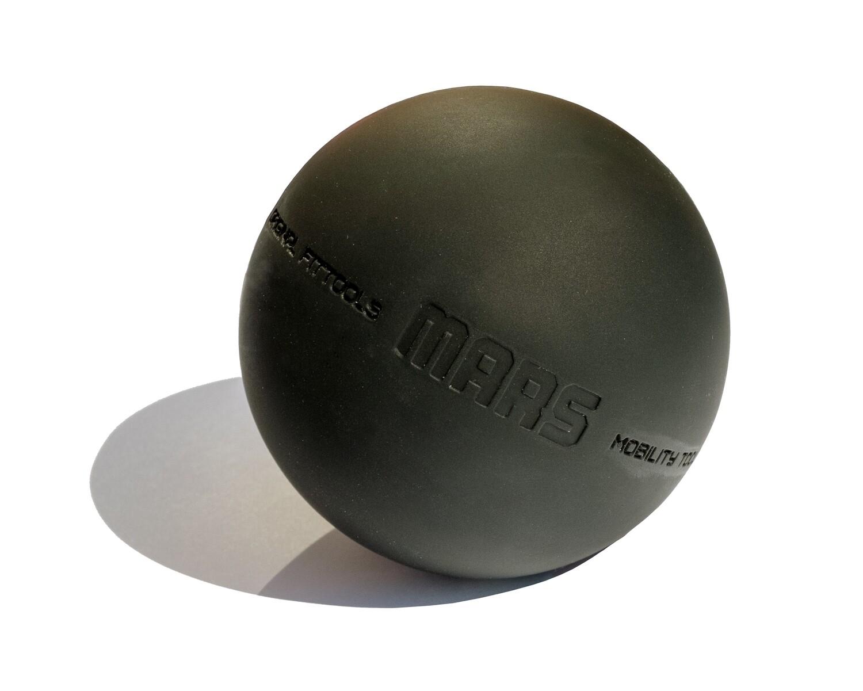 Мяч OFT 9 см, чёрный