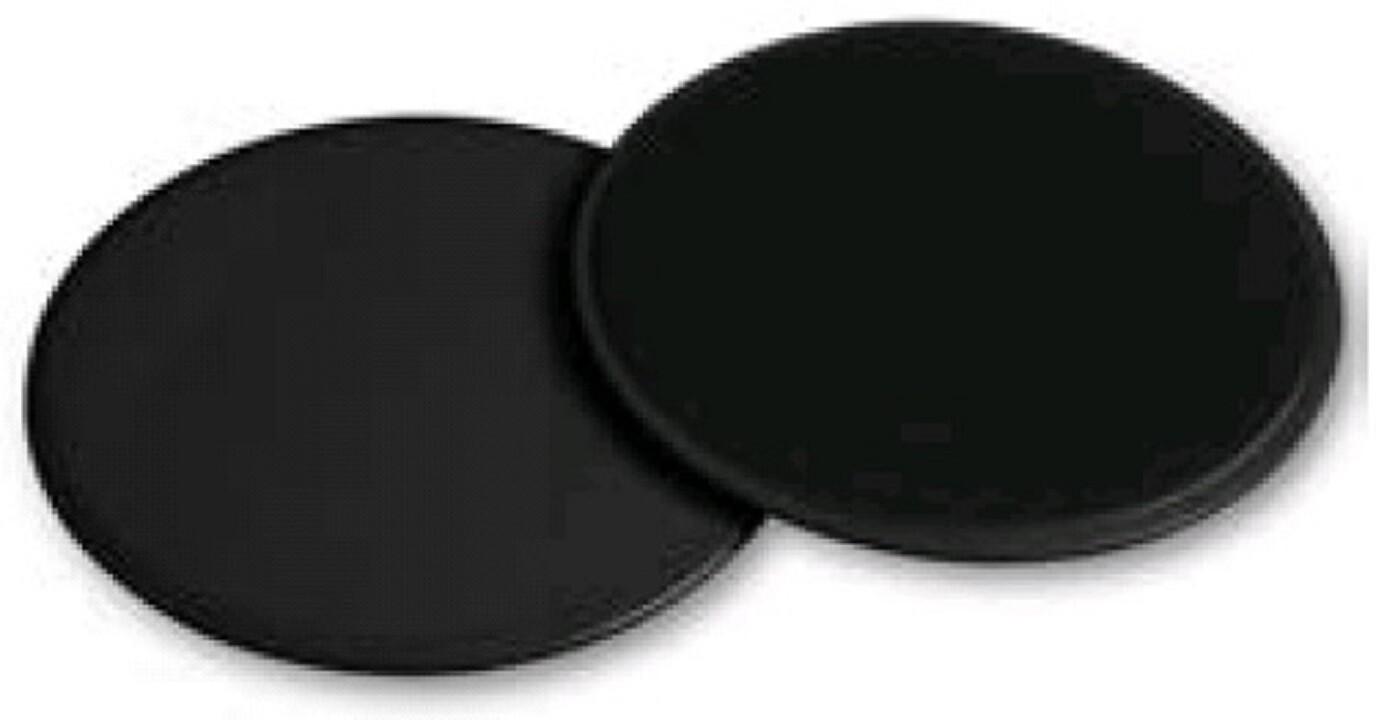 Диски для скольжения Indigo чёрные