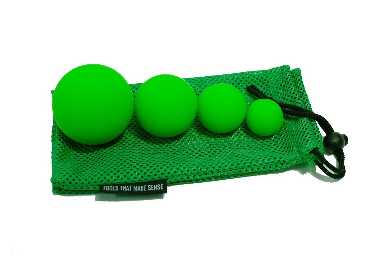 Набор из 4 массажных мячей OFT