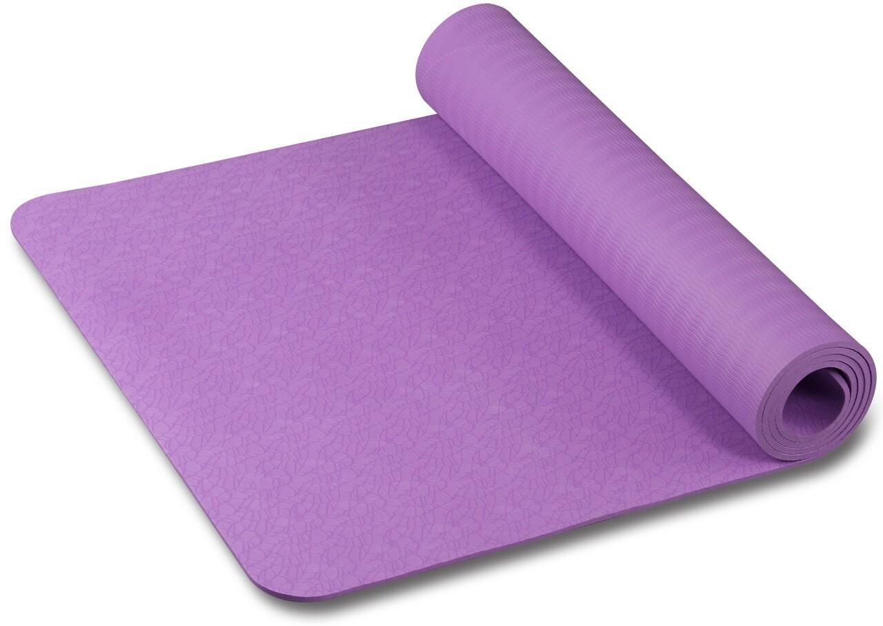 Коврик TPE Indio 6 мм, фиолетовый