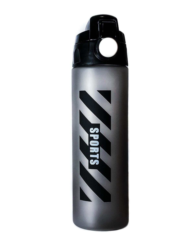 Бутылка Sports 700 мл, серо-черный