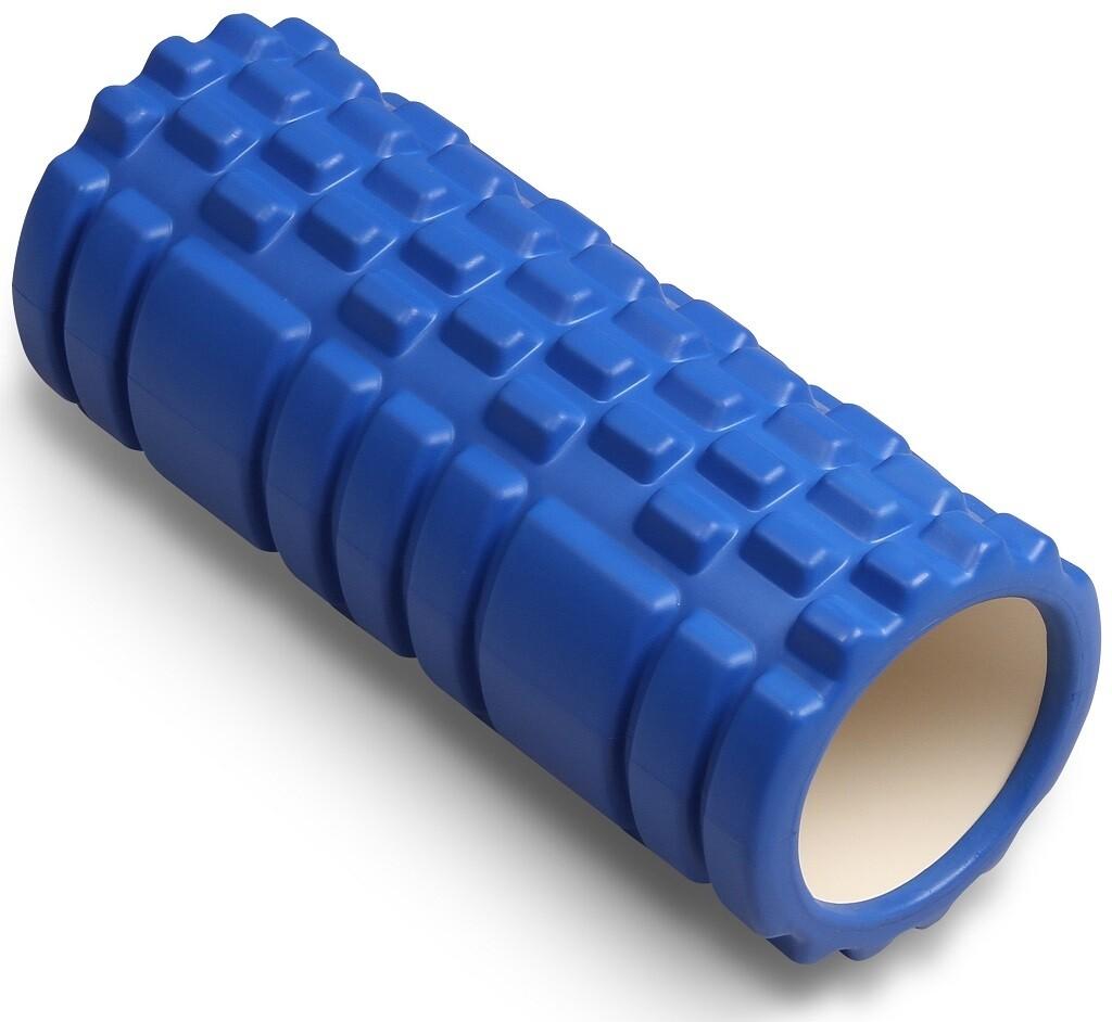 Цилиндр массажный Indigo 14*33 см, синий
