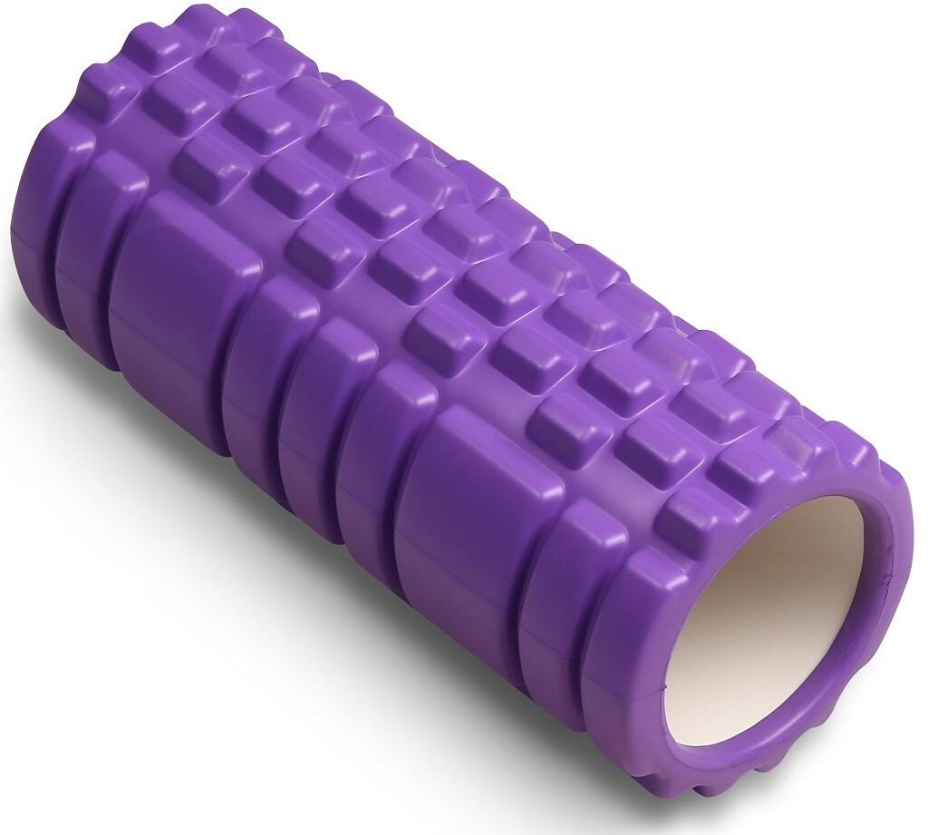 Цилиндр массажный Indigo 14*33 см, фиолетовый